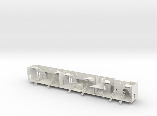 Graf Zeppelin 1:100 Bootsnieschen Bb Spant 79-110 in White Natural Versatile Plastic