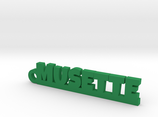 MUSETTE Keychain Lucky in Green Processed Versatile Plastic