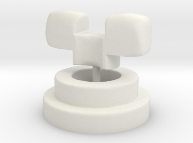 Luts/Fairyland replacement adapter SD size in White Natural Versatile Plastic