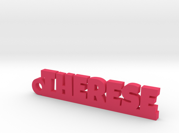 THERESE Keychain Lucky in Pink Processed Versatile Plastic