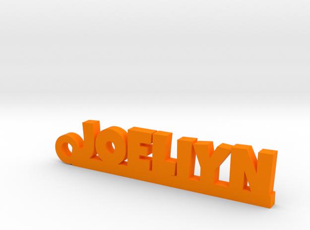 JOELIYN Keychain Lucky in Orange Processed Versatile Plastic