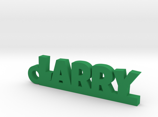 LARRY Keychain Lucky in Green Processed Versatile Plastic