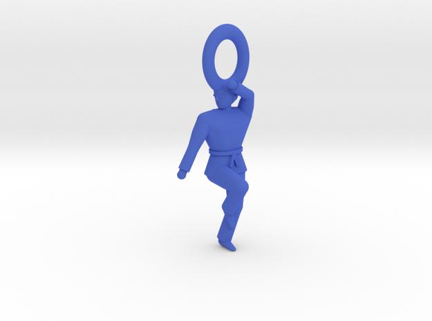 Keychain Keumgang - Majest in Blue Processed Versatile Plastic