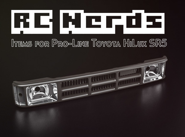 RCN004 Grill with radiator for Pro-Line Toyota SR5