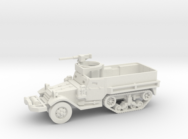 M9 Half-track (Usa) 1/100 in White Strong & Flexible
