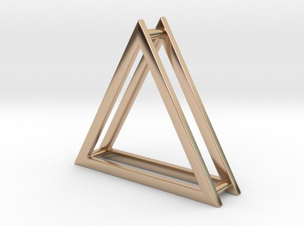 Wire ::: Triangle Pendant ::: v.01
