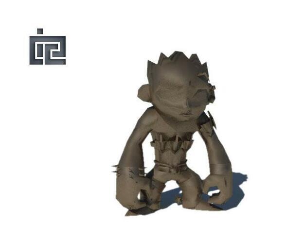 Shade Redawn 3d printed Render
