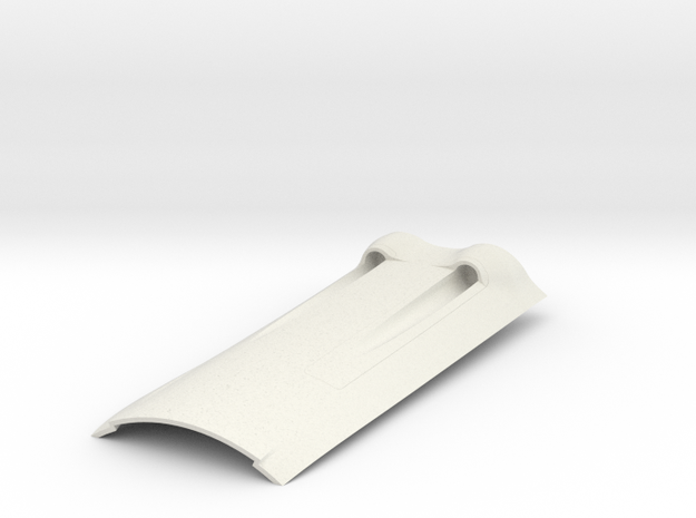 Pica FW190 D9 Nose Section in White Natural Versatile Plastic
