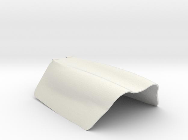 Pica FW190 D9 Gun Hood in White Natural Versatile Plastic