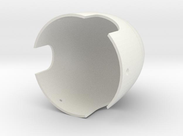 Pica FW190 D9 Propeller Spinner in White Natural Versatile Plastic