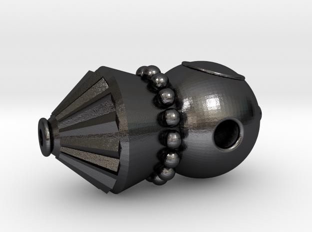 Vostok Pendant in Polished Grey Steel