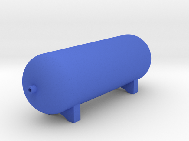 Scale On Board Air Tank 1:10 in Blue Processed Versatile Plastic