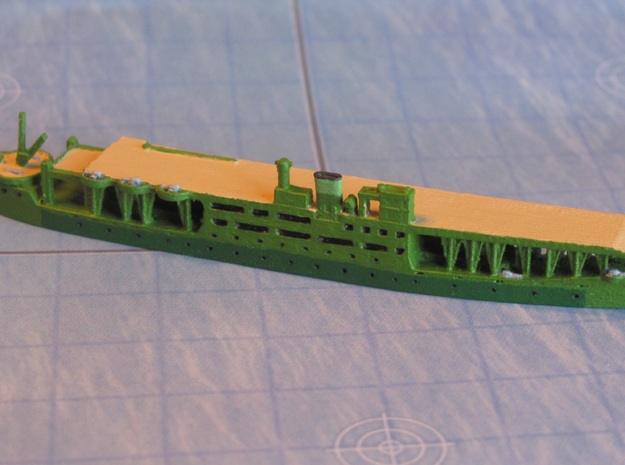 Akitsu Maru (1942) 1/1800 in Smooth Fine Detail Plastic
