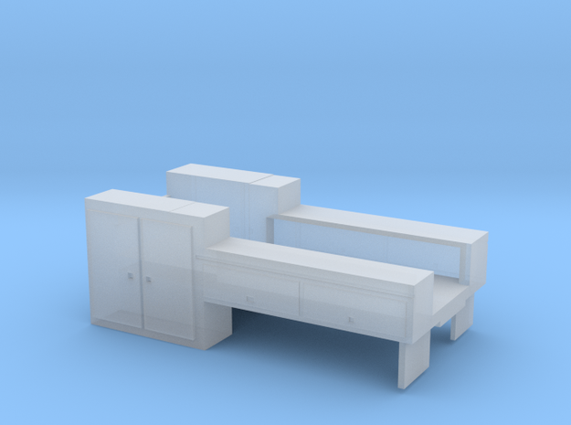 NS/CSX MOW Truck Deck #4 in Smooth Fine Detail Plastic