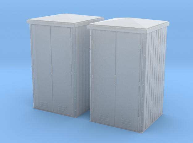 TJ-H04658x2 - Armoires electriques métalliques in Smooth Fine Detail Plastic