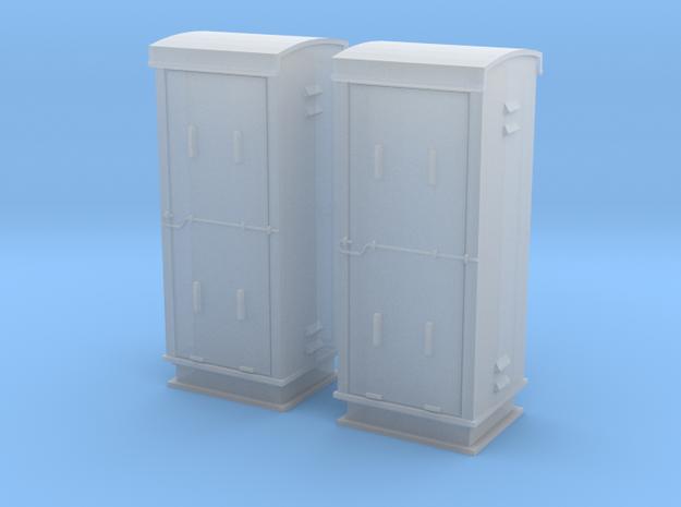 TJ-H04660x2 - Armoires de signalisation BT in Smooth Fine Detail Plastic