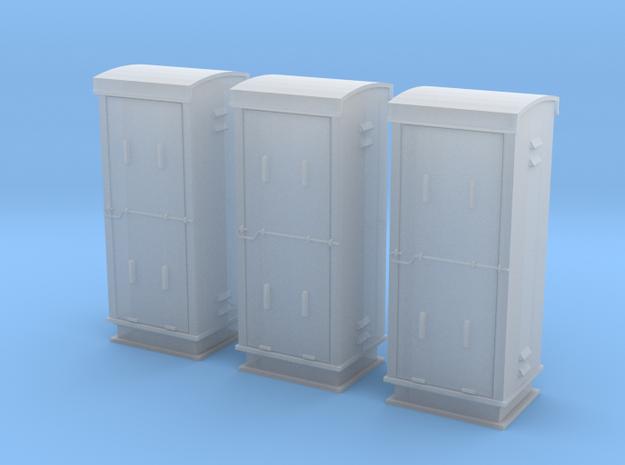 TJ-H04660x3 - Armoires de signalisation BT in Smooth Fine Detail Plastic