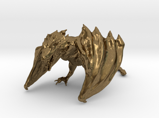 Game Of Thrones Dragon in Natural Bronze