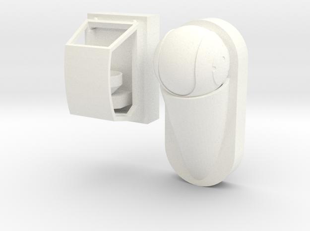 1.9 CAMERA AVANT RAFALE in White Processed Versatile Plastic