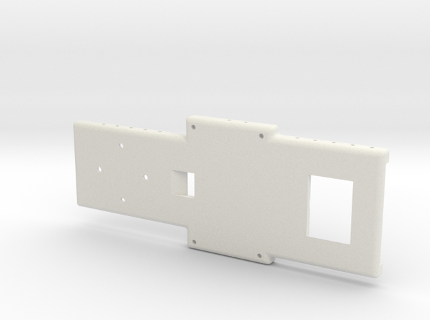 Overall Baseplate BIGSS (1) in White Strong & Flexible