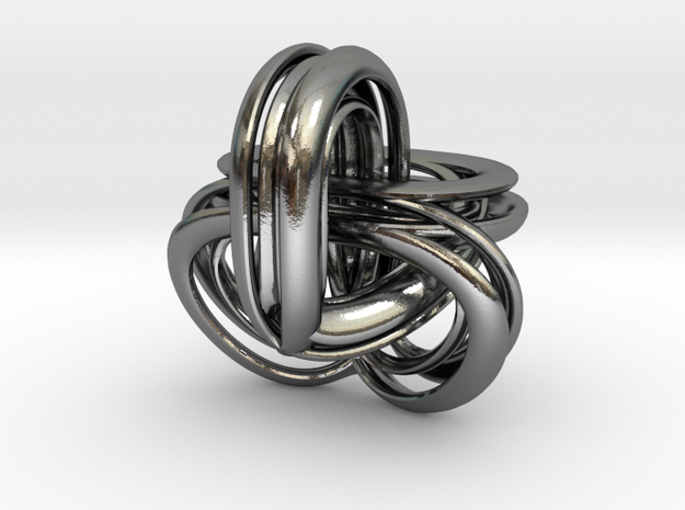 Parallel Universe - Helen in Polished Silver