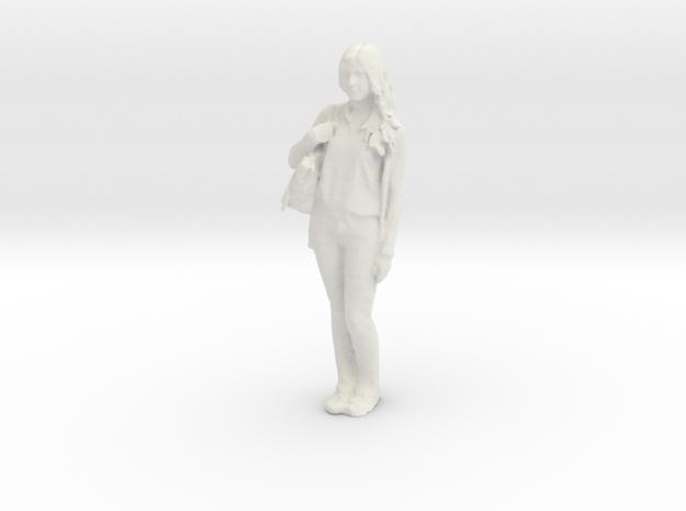 Printle C Femme 243 - 1/20 - wob in White Natural Versatile Plastic