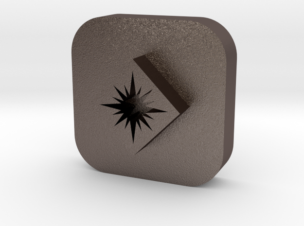 Star in Diamond Leather Stamp