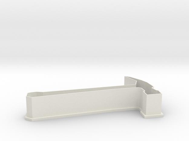 Hammer Cookie Cutter in White Natural Versatile Plastic