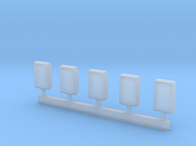 TJ-H01121 - poubelles urbaines in Smooth Fine Detail Plastic
