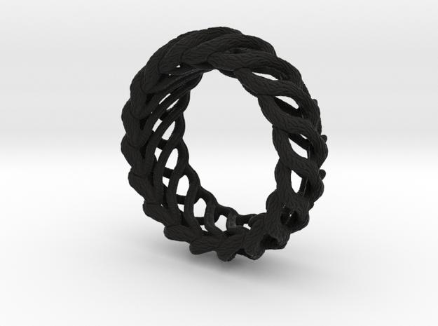 AlienBracelet I in Black Strong & Flexible
