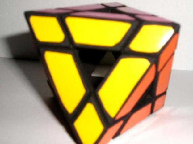 Holey Octahedron 3d printed Solved