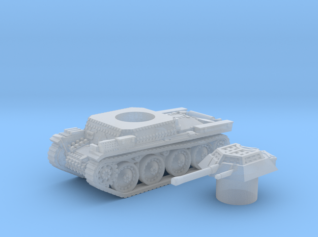 Panzer 38(t) (Czechoslovakia) 1/200 in Smooth Fine Detail Plastic