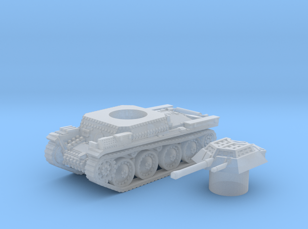 Panzer 38(t) (Czechoslovakia) 1/144 in Smooth Fine Detail Plastic