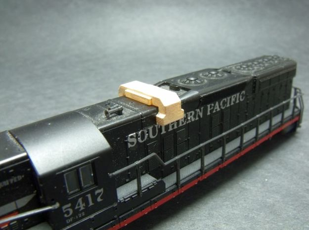 N Scale Air Filters #1 3d printed