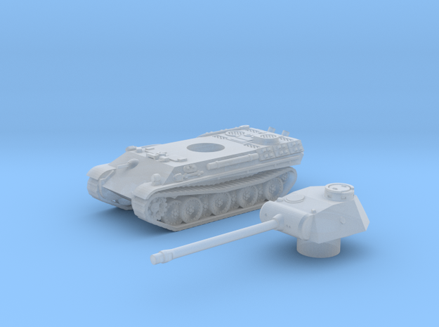 Panther tank (Germany) 1/200 in Smooth Fine Detail Plastic