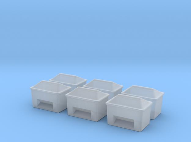 TJ-H01129x6 - Bacs à sable ou a sel in Smooth Fine Detail Plastic