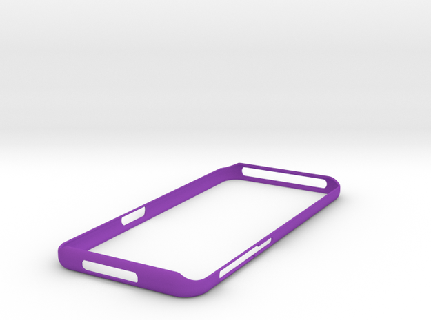 Galaxy S8  Bumper   NEW !   Samsung in Purple Strong & Flexible Polished
