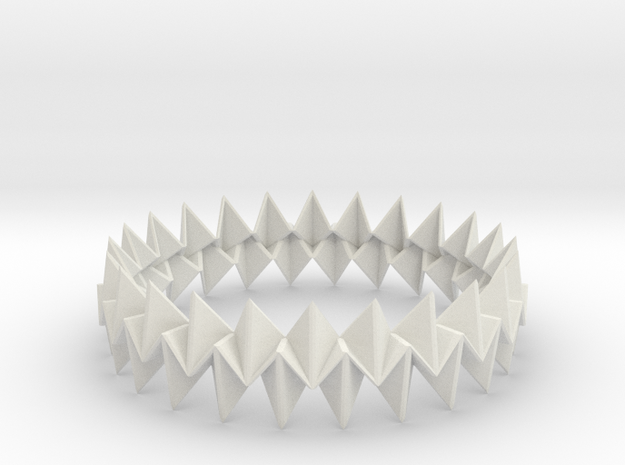 Small Bracelet WB - Origami Inspired Design