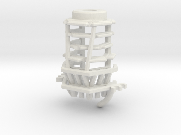MPP2.0 Sith Master Chassis - Part3 CCinsert2 in White Natural Versatile Plastic