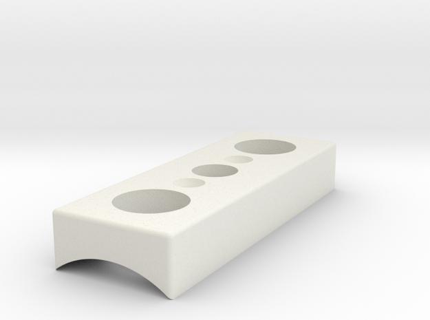 "Activation Box 1.20""  in White Natural Versatile Plastic"