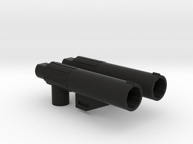 CW/UW Bruticus/Baldigus Cannon Extensions in Black Strong & Flexible