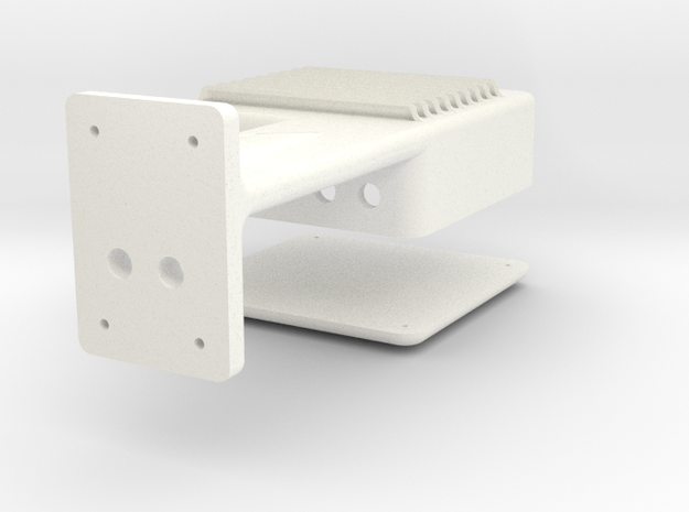 1.4 LAMA BOITIER ELECTRIQUE in White Processed Versatile Plastic