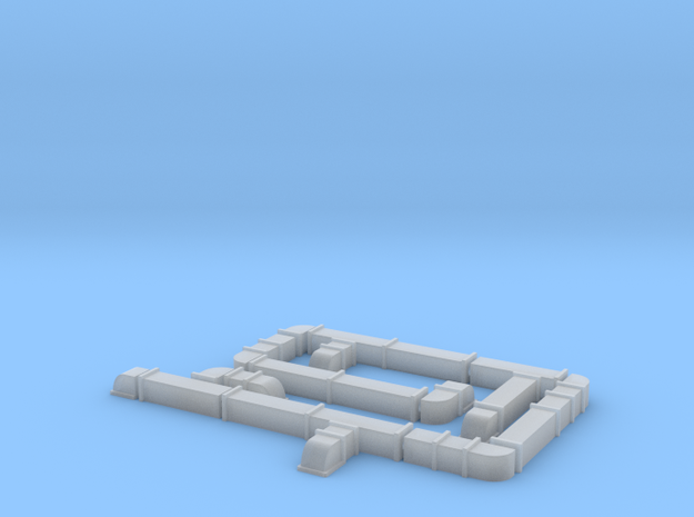 Mechanical DUCTWORK Modular Pack, N