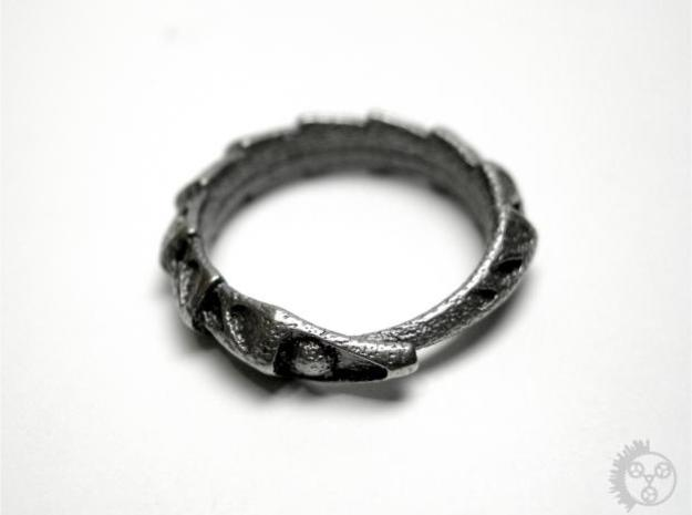 Carapace Ring 3d printed Carapace Ring - Front