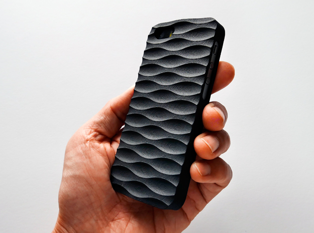 iPhone SE Case_Seamless in Black Strong & Flexible