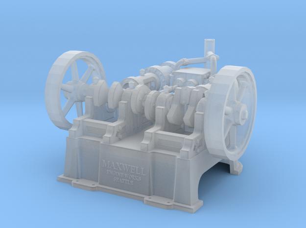 "HO - S  Maxwell Horizontal 10"" Twin Steam Engine"