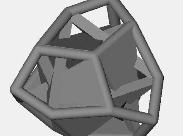 d12 tetartoid blank 3d printed Description