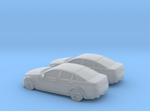 1/120 Holden Commodore in Smooth Fine Detail Plastic