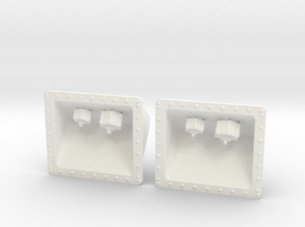 1.8 PRISES HYDRAULIQUES SUPER PUMA in White Processed Versatile Plastic