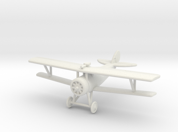 GWA07A Nieuport 27 RFC (1/144) in White Natural Versatile Plastic